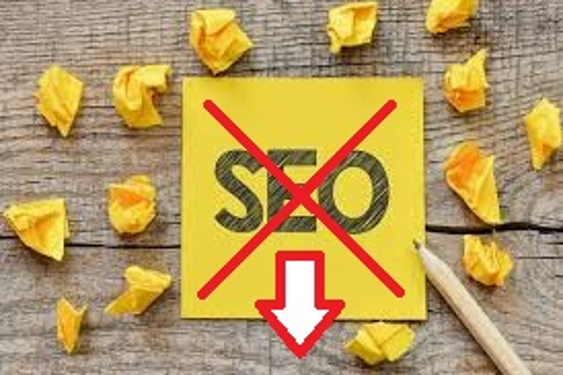kesalahan SEO - 3 kesalahan fatal dalam Optimasi SEO